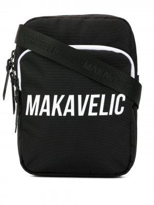 Сумка через плечо Makavelic. Цвет: черный