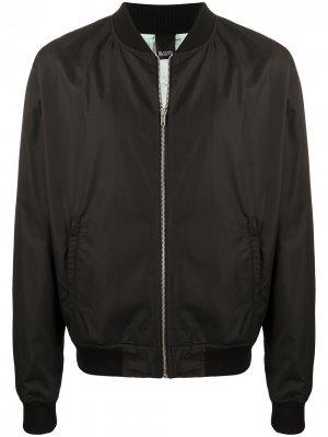 Куртка-бомбер Blood Brother. Цвет: черный