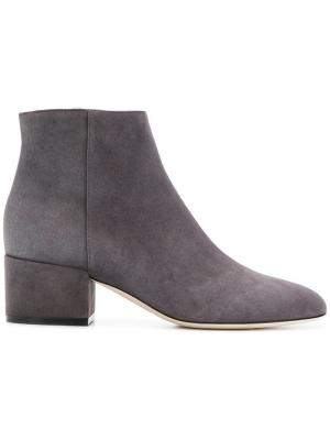 Ankle length boots Sergio Rossi. Цвет: серый