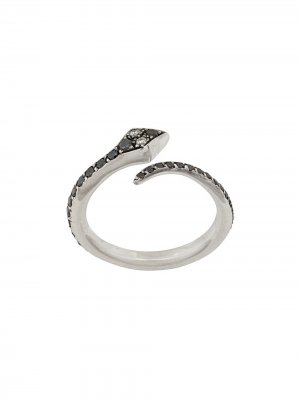 Кольцо из белого золота с бриллиантами Ileana Makri. Цвет: золотистый