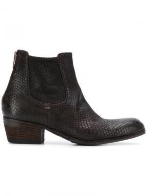 Ботинки-челси Pantanetti. Цвет: коричневый