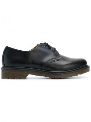 Ботинки на шнуровке 1461 Dr. Martens. Цвет: черный