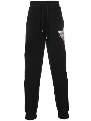 Спортивные брюки с вышитым логотипом Jordan. Цвет: черный