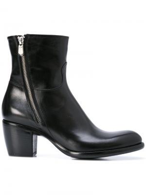 Ботинки на молнии Rocco P.. Цвет: черный