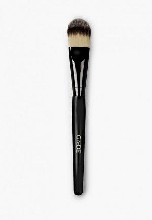 Кисть для лица Ga-De. Цвет: черный