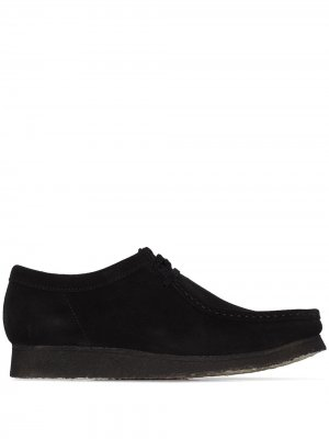 Туфли Wallabee Clarks Originals. Цвет: черный