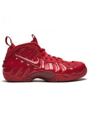 Кроссовки Air Foamposite Pro Nike. Цвет: красный