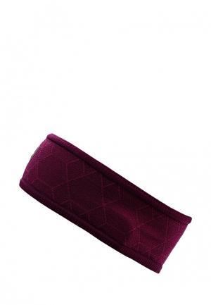 Повязка ASICS. Цвет: фиолетовый