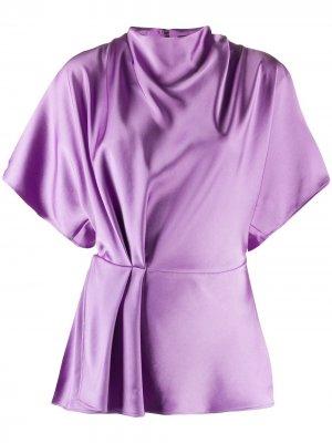 Блузка с короткими рукавами Stine Goya. Цвет: фиолетовый