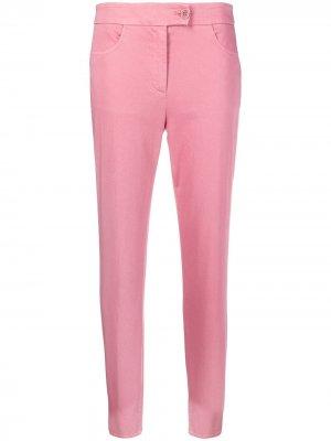 Зауженные брюки Aspesi. Цвет: розовый