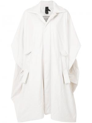 Slouched shirt coat Bernhard Willhelm. Цвет: белый