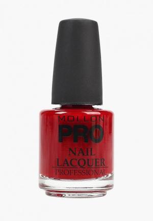 Лак для ногтей Mollon Pro. Цвет: красный