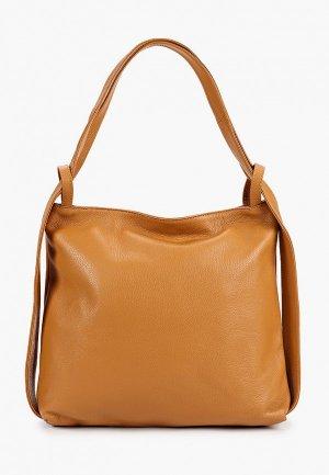 Рюкзак Isabella Rhea. Цвет: коричневый