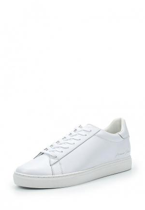 Кеды Armani Jeans. Цвет: белый