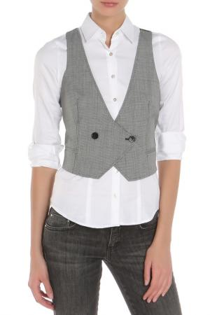 Жилетка костюмная CNC Costume National C'N'C. Цвет: серый