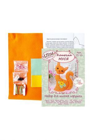 Набор для шитья Кошечка Муся СТУДИЯ ДЕКОРА ТУТТИ. Цвет: оранжевый