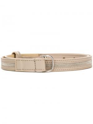 Embellished belt D.Exterior. Цвет: нейтральные цвета