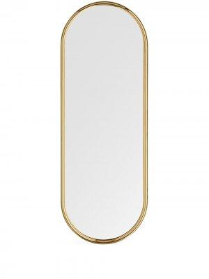 Большое зеркало Angui AYTM. Цвет: золотистый