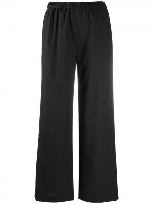 Широкие брюки с эластичным поясом Aspesi. Цвет: серый