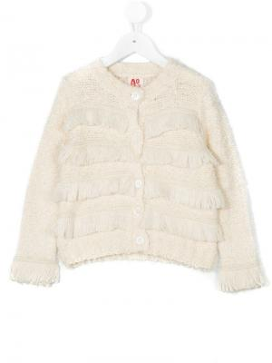 Вязаный свитер American Outfitters Kids. Цвет: нейтральные цвета
