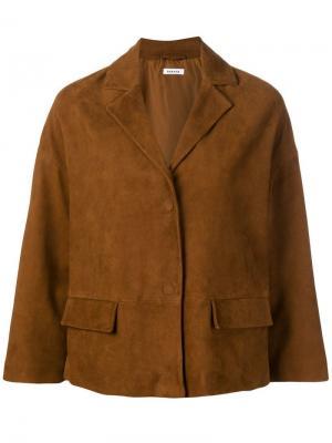 LOTTIED430654 2900 Furs & Skins->Calf Leather P.A.R.O.S.H.. Цвет: коричневый