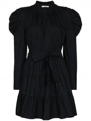 Платье Naima с пышными рукавами Ulla Johnson. Цвет: черный