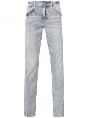 Прямые джинсы Blake Hudson. Цвет: серый