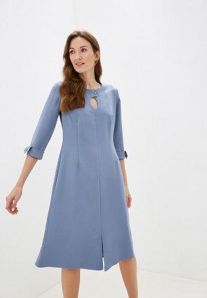 Платье Adzhedo. Цвет: синий