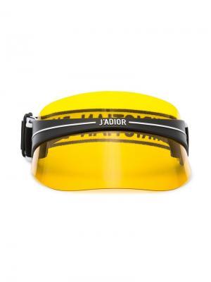 Кепка-козырек DiorClub1 Dior Eyewear. Цвет: желтый