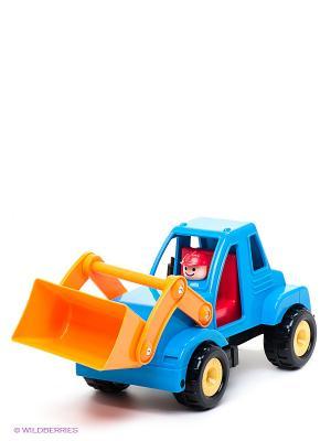 Ковшовый погрузчик Battat. Цвет: синий, оранжевый