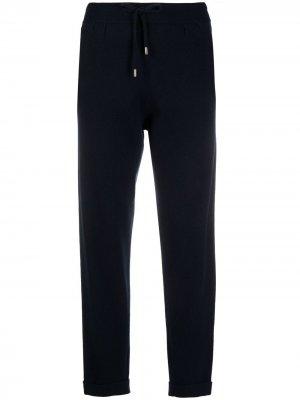 Кашемировые спортивные брюки Colombo. Цвет: синий