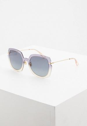 Очки солнцезащитные Christian Dior. Цвет: серый