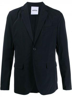 Пиджак свободного кроя Aspesi. Цвет: синий