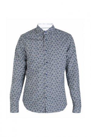 Рубашка Corneliani. Цвет: разноцветный