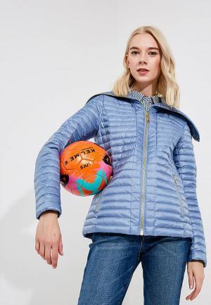 Куртка утепленная Michael Kors. Цвет: голубой