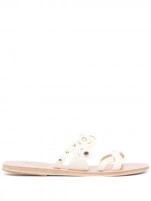 Сандалии Meltemi Mirrors Ancient Greek Sandals. Цвет: белый