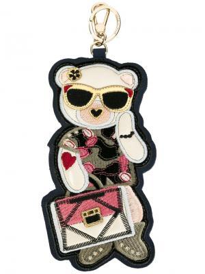 Брелок для ключей Lady Blogger Furla. Цвет: многоцветный