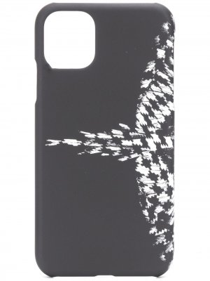 Чехол Wings для iPhone 11 Marcelo Burlon County of Milan. Цвет: черный
