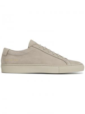 Кеды Original Achilles Common Projects. Цвет: серый