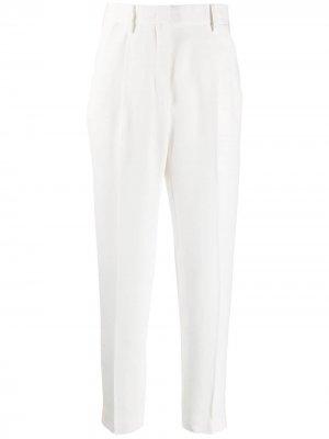 Укороченные брюки с завышенной талией Nº21. Цвет: белый