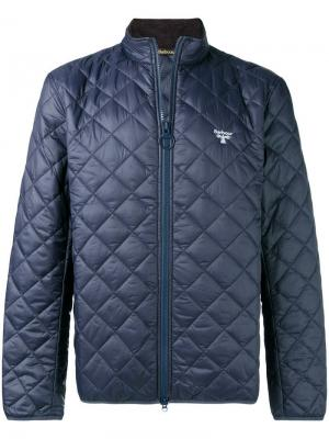Diamond quilted jacket Barbour. Цвет: синий