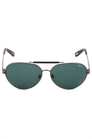 Очки солнцезащитные Chopard. Цвет: серый