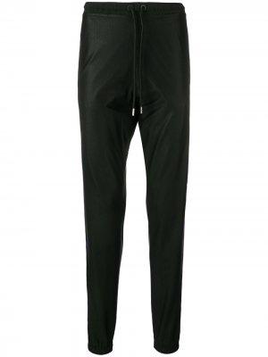 Спортивные брюки с полосками Marcelo Burlon County of Milan. Цвет: черный