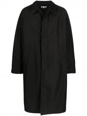 Куртка-рубашка оверсайз Our Legacy. Цвет: черный