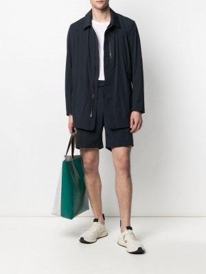 Куртка с потайной застежкой Drome. Цвет: синий