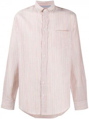 Полосатая рубашка с длинными рукавами Missoni. Цвет: нейтральные цвета