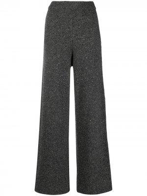 Трикотажные брюки прямого кроя 12 STOREEZ. Цвет: серый