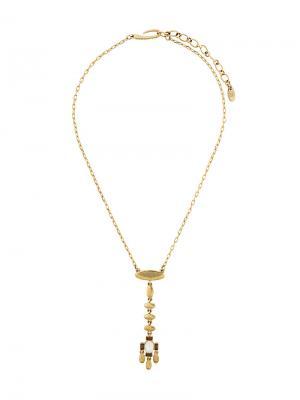 Ожерелье с подвеской Givenchy Pre-Owned. Цвет: золотистый