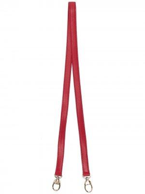 Ремень для сумки 2010-х годов (95 см) Christian Dior. Цвет: красный