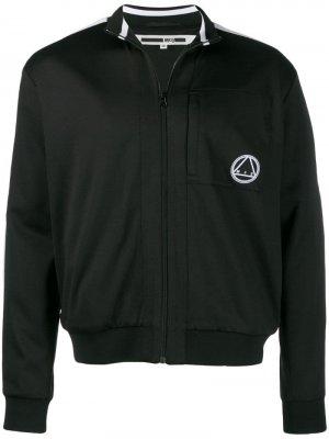 Толстовка на молнии с логотипом McQ Swallow. Цвет: черный